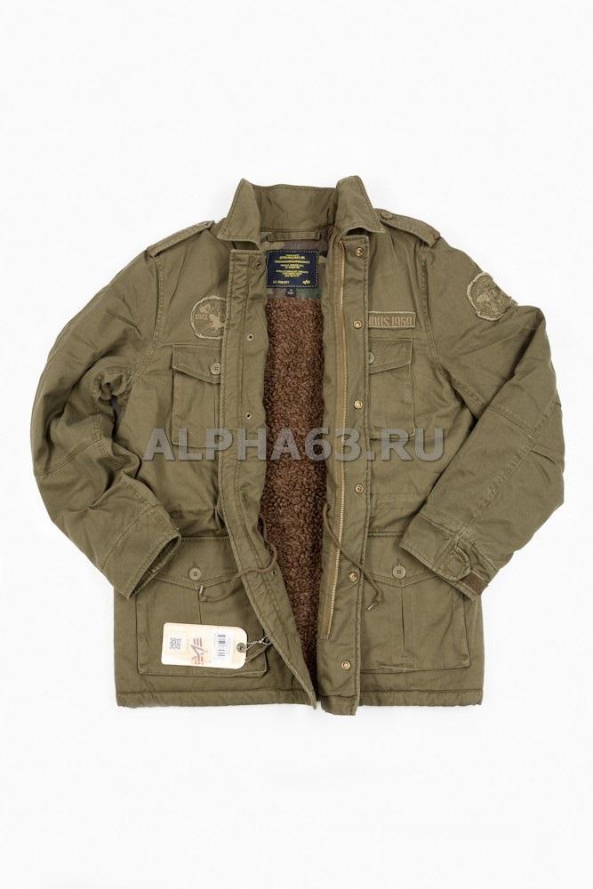 Американскую Военную Куртку М65 Олива Купить