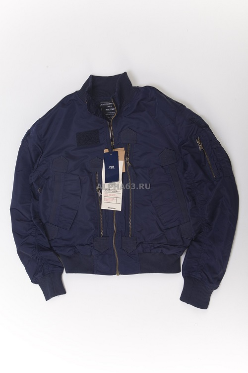 US Tactical Flight Jacket blue