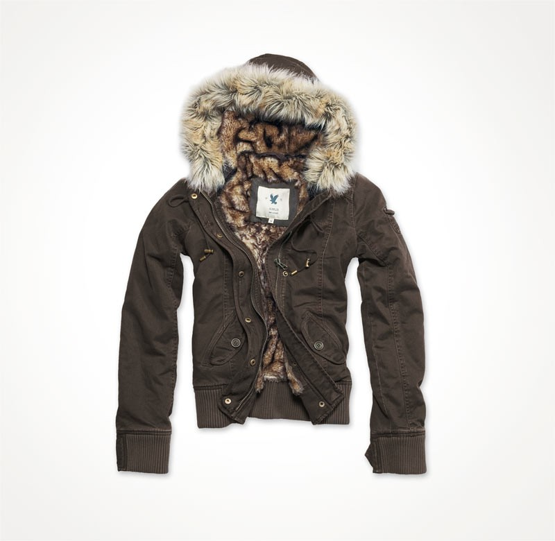 LADIES BLOUSON Brown
