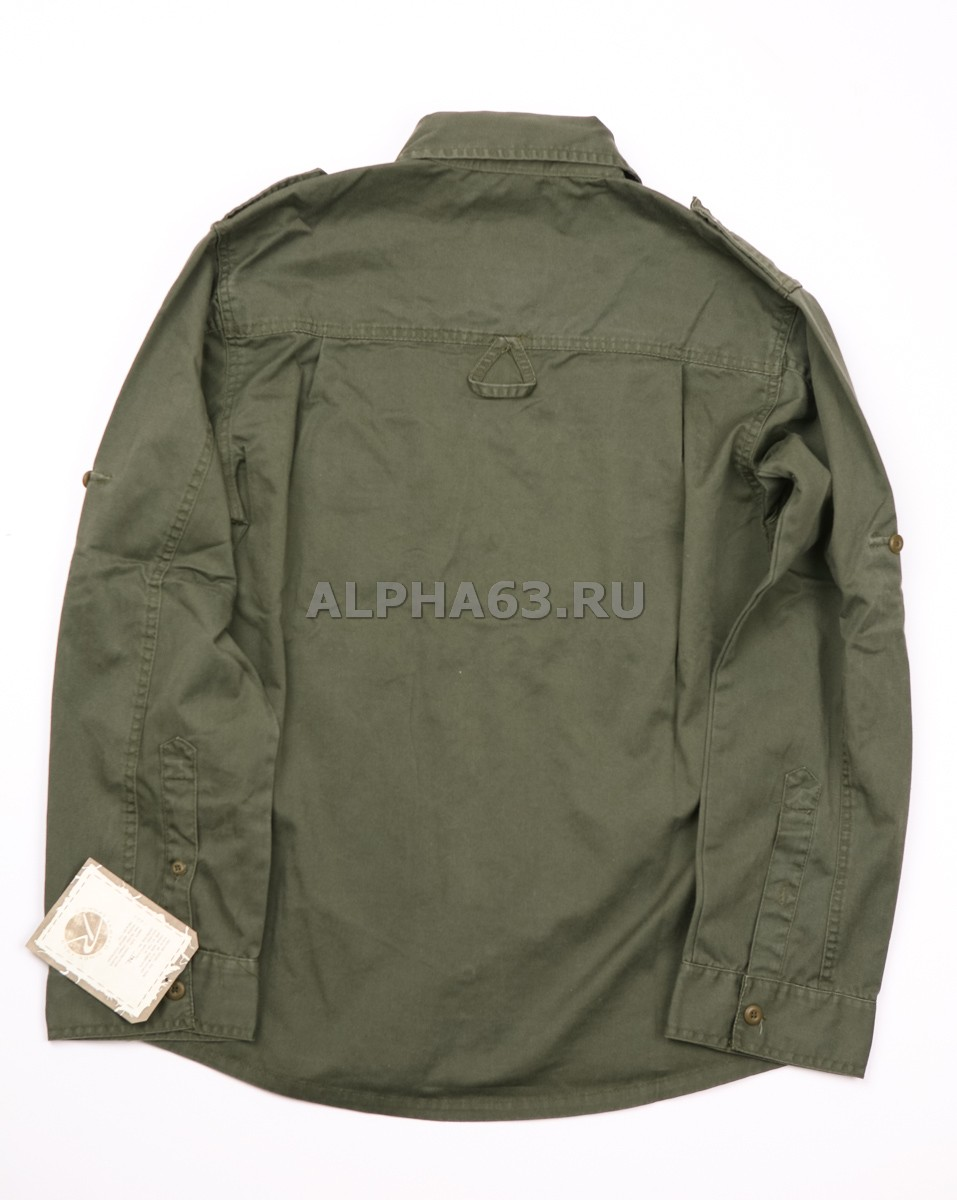 Рубашка ''Vintage Fatiques Olive'' Rothco O.D.