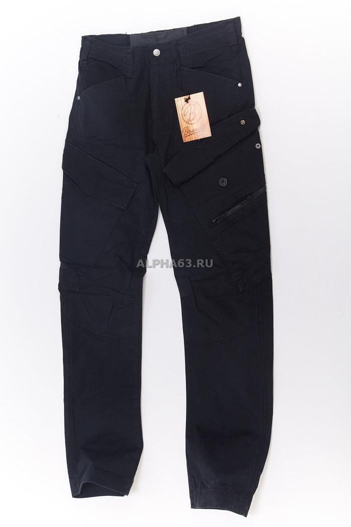 Штаны Adven Trouser slim fit Black