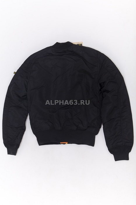 Куртка Flight Jacket МА-1 Slim Fit /Black New