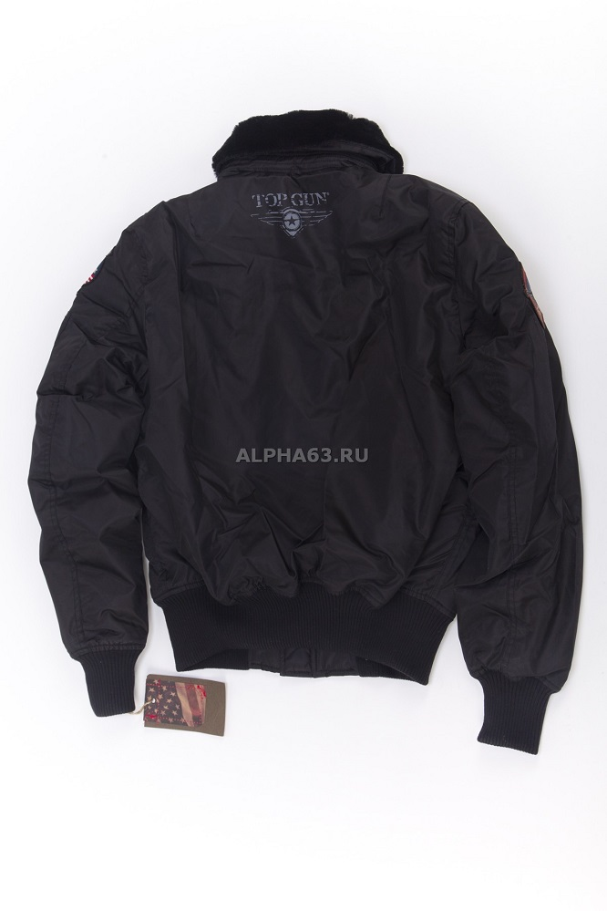 Куртка Flight Jacket B-15 With Patсhes/Black