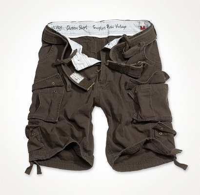 DIVISION SHORTS Brown