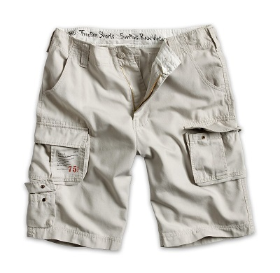 TROOPER SHORTS Off-White
