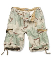 VINTAGE SHORTS WASHED 3-colors Desert