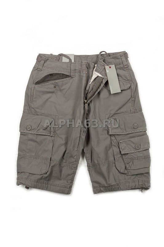 "Шорты ""Shore Shorts"" Vintage Industries Light Grey"