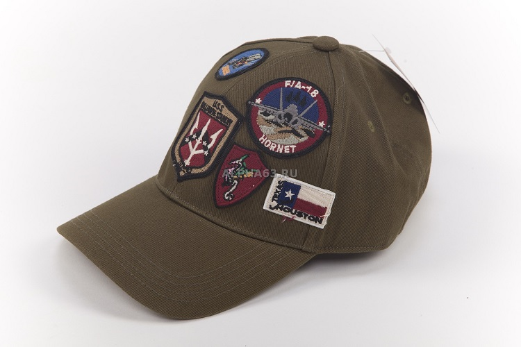 Кепка Top Gun Cap With Patches olive