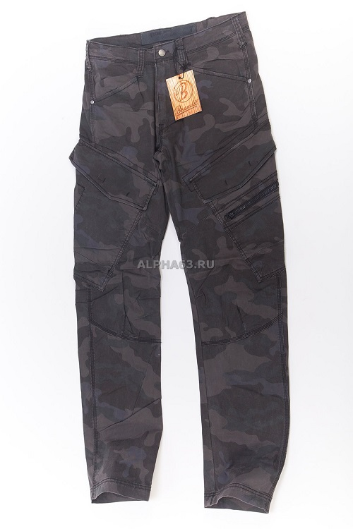 Штаны Adven Trouser slim fit Darkcamo