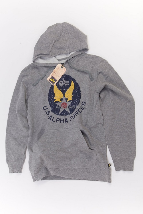 Толстовка Irvin Hoodie heather grey