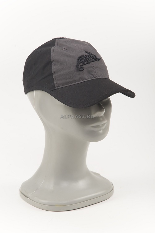 Бейсболка Logo Cap black/shadow grey