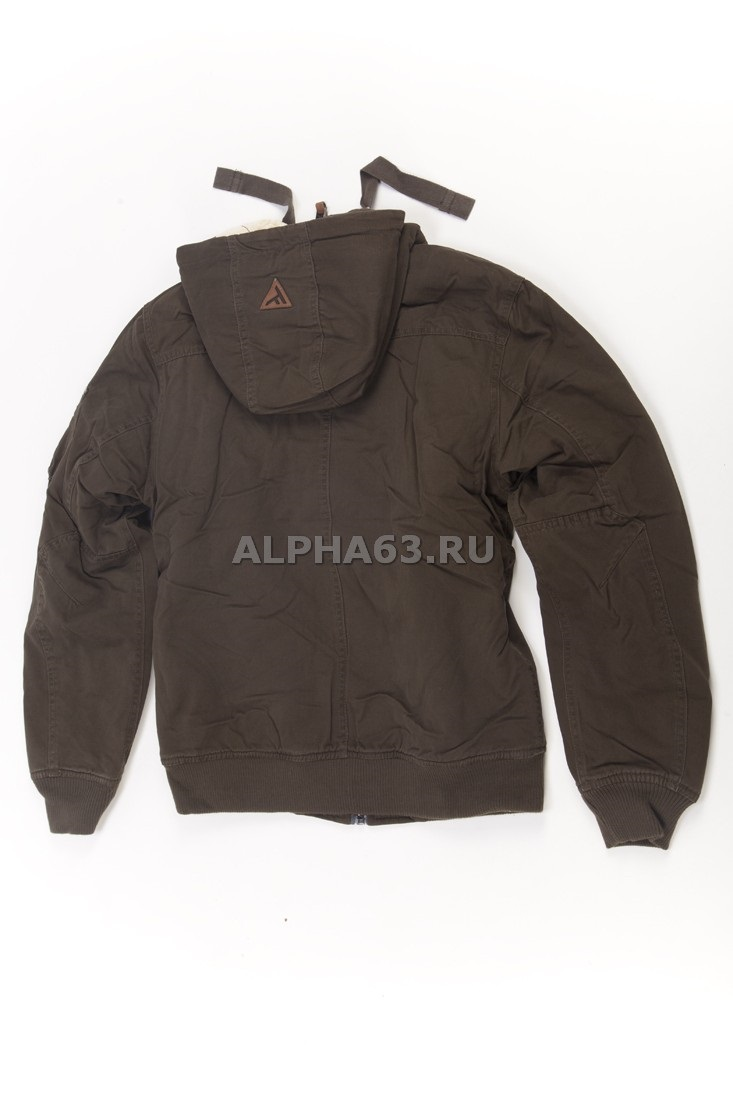 "Куртка утеплённая ""Waterproof Bomber Jacket 421"" dark olive"