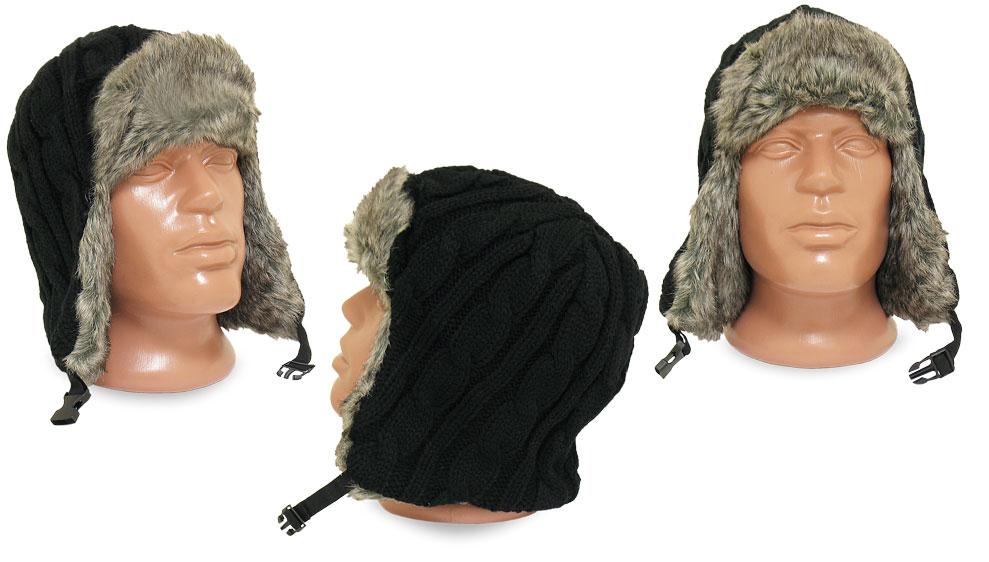 вязаные шапки из польши