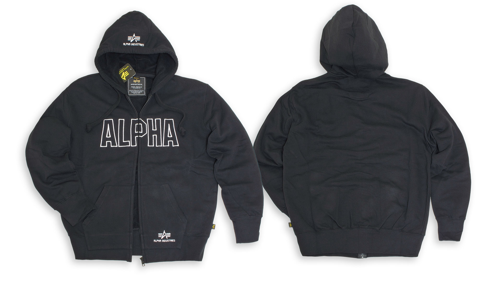 Track Hooded Jacket Black