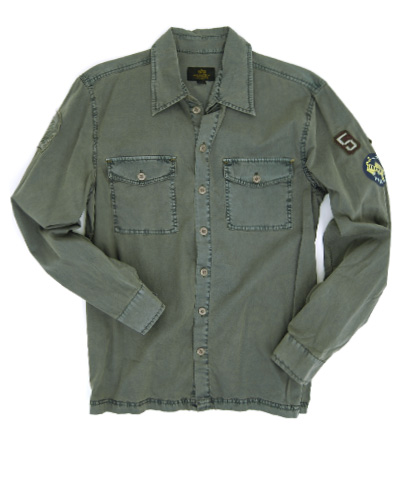 Рубашка Patch Shirt OLIVE Alpha Industries