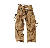 VINTAGE FATIGUES TROUSERS Beige
