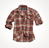 Рубашка WOODCUTTER SHIRT Red