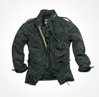 REGIMENT M 65 JACKET Black Camo