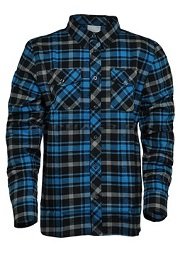 Рубашка FINNLEY SHIRT Blue Check