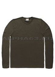 Лонгслив JEAN LONG SLEEVE SHIRT dark olive