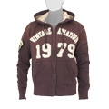 Толстовка Top Gun Zip-Up Vintage Aviation Brown