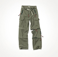 TREKKING TROUSERS Olive