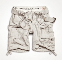 DIVISION SHORTS Off-White