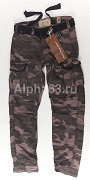 Штаны Premium SLIMMY Trousers Black Camo