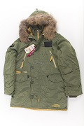 Куртка N-3B Inclement Sage Green Nat.Fur