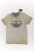 Футболка Top Gun Wings Logo olive