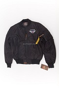 Куртка Flight Jacket МА-1 The Flying Legend Black