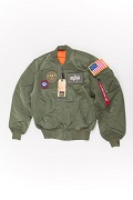 Куртка Flight Jacket МА-1 Flex Sage Green