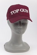 Кепка Logo Cap Top Gun burgundy