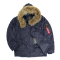 Куртка N-3B Parka Rep Blue Nat. fur