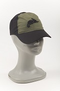 Бейсболка Logo Cap black/olive green