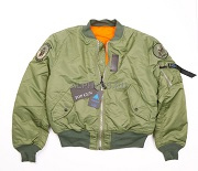 Куртка Flight Jacket МА-1 Top Gun Light Green
