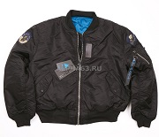 Куртка Flight Jacket МА-1 Top Gun Black