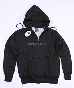 "Толстовка ""Thermal Zipper Hooded"" Black"