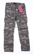 Штаны Airborne SLIMMY Trousers Black Camo