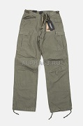 M65 Heavy Satin Pants Olive