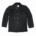 Бушлат US Marine Pea Coat Black MFH