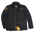 Куртка Nylon M-65 With Patches Black