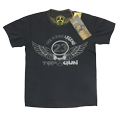 "Футболка vintage ""The Flying Legend"" Black"