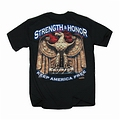 "Футболка ""Strength & Honor"" Black 7,62 Design"